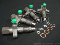 Land Rover Series II/IIA/III 2.25 & Defender 2.5 NA Diesel Complete Fuel Injector ERR1266 / 564332 (SET + Install Kit)