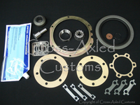 Land Rover Series II Steering Swivel Housing Repair & Seal Kit (w/o Housing) Earlier Style w/Steering Link on Upper Section Of Housing #DA3169P