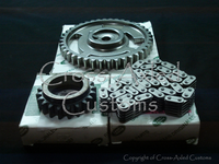 Land Rover Discovery II / Range Rover 4.0 & 4.6 V8 Engine Timing Chain & Camshaft/Crankshaft Drive Gear Sprocket Set. (Bosch Engines) #ERR7375G, ERR2958G, ERC7929G OE