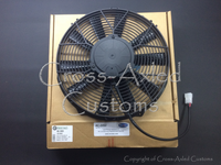 Land Rover Discovery II '99-'04 4.0 / 4.6 V8 A/C Air Conditioning Condenser Electric Cooling Fan Assembly. Bearmach / Revotec # BA 3939 / JRP10000