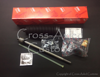 Land Rover Discovery LR3 Inner & Outer Tie Rod Ball Joint End Steering Spindle Repair Kit (Left Hand Side). OEM TRW # LR010669 JRA593