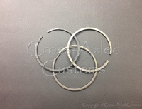 Land Rover Defender 2.5 NA Diesel Piston Ring Set (One Cylinder, Hepworth 3-Ring Style) #RTC4778