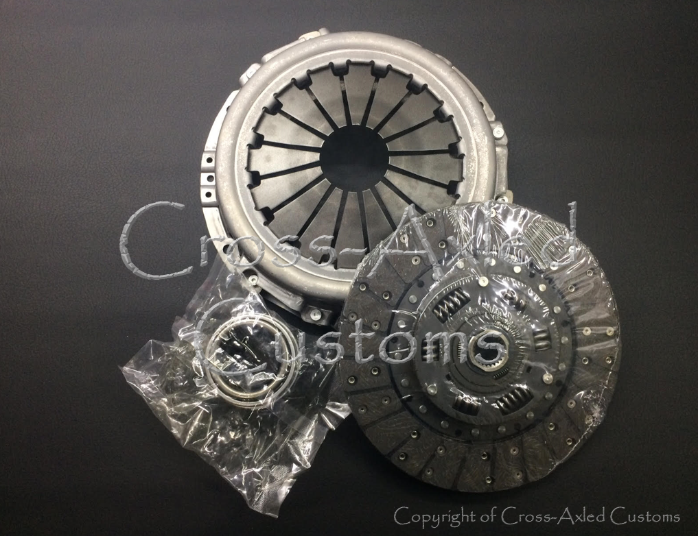 Land Rover Defender / Discovery 1 / Range Rover Classic 2 5 NA / TD /  200-300TDI Clutch Disc, Pressure Plate, & Throw-Out Release Bearing Kit