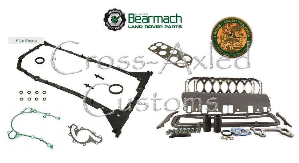 Land Rover Discovery Engine Rebuild
