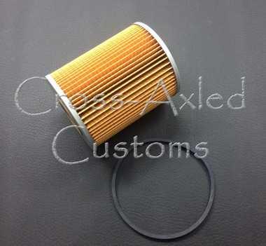 """Land Rover Series II / IIA / III 2.25L Engine Oil Filter Cartridge Replacement (Shorter Style w/ 5.5"""" Canister) #RTC3184"""