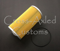 """Land Rover Series II / IIA / III 2.25L Engine Oil Filter Cartridge Replacement (Longer Style w/ 7.5"""" Canister) #RTC3185"""