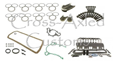 Land Rover Defender, Discovery I & Range Rover P38 4.0L V8 Engine Rebuild Overhaul Kit GEMS ONLY - (Less Pistons) Bearmach