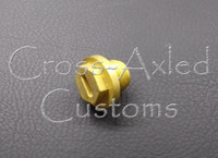 Differential Fill Plug, Updated Brass-HD. Land Rover Discovery 2 #ERR4686B