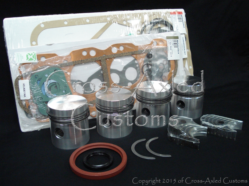 Land Rover Series II/IIA/III 2 25 L Petrol Engine Motor Overhaul Rebuild Kit