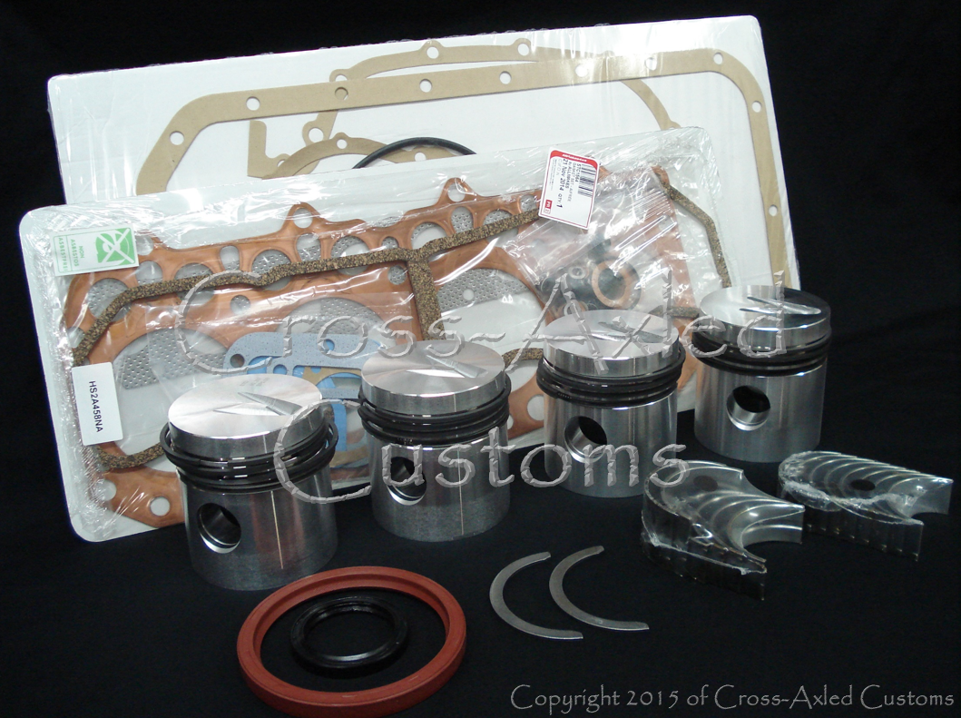Land Rover Series II/IIA/III 2 25 Diesel Engine Motor Overhaul Rebuild Kit