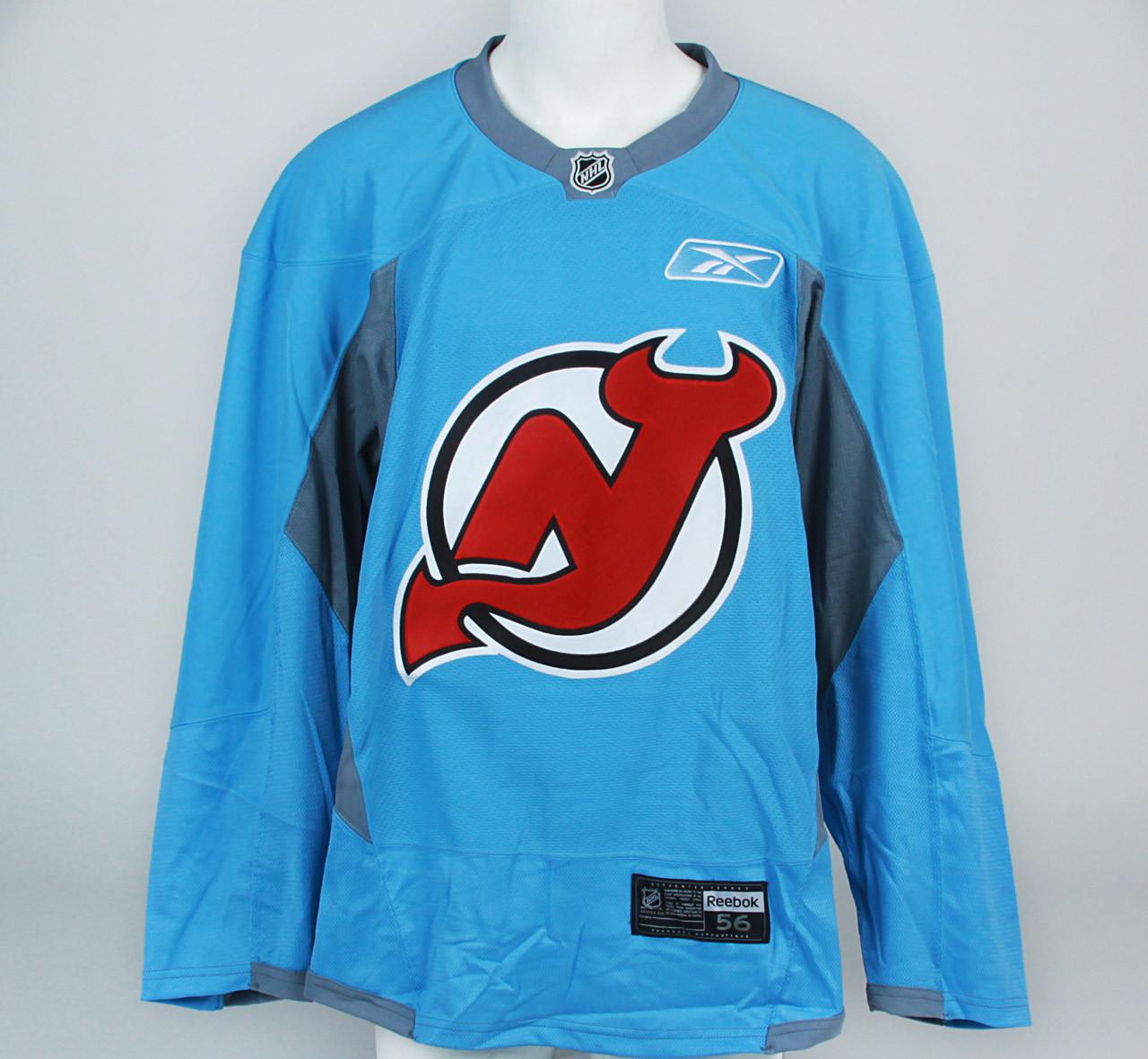 ... Practice Jersey - New Jersey Devils - Baby Blue Reebok Size 56. Image 1 15047fb81