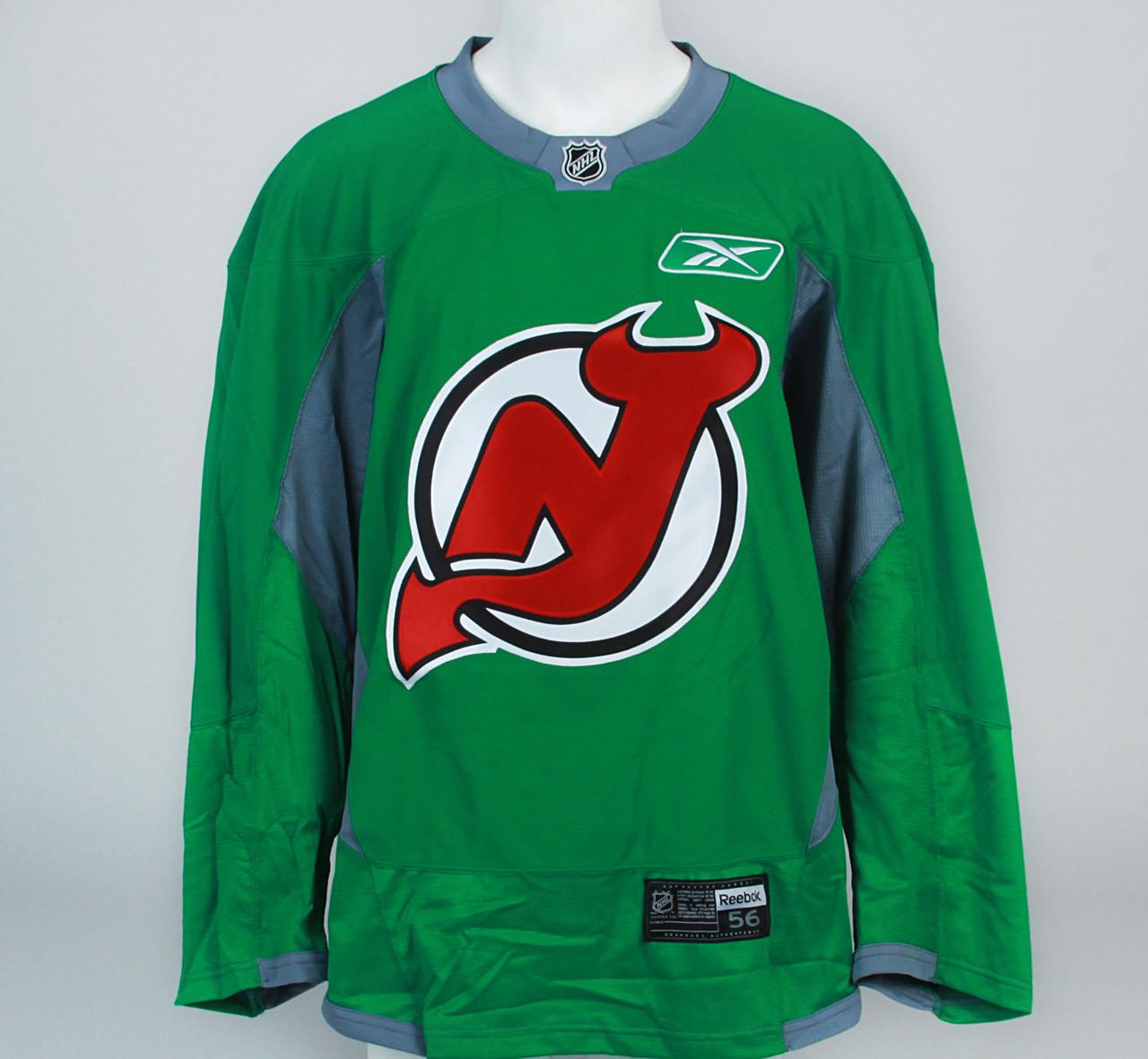 ... Practice Jersey - New Jersey Devils - Green Reebok Size 56. Image 1 ca025d784