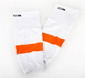 Game Sock - Philadelphia Flyers - White Reebok Size XL