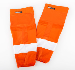 Game Sock - Philadelphia Flyers - Orange Reebok Size XL #2