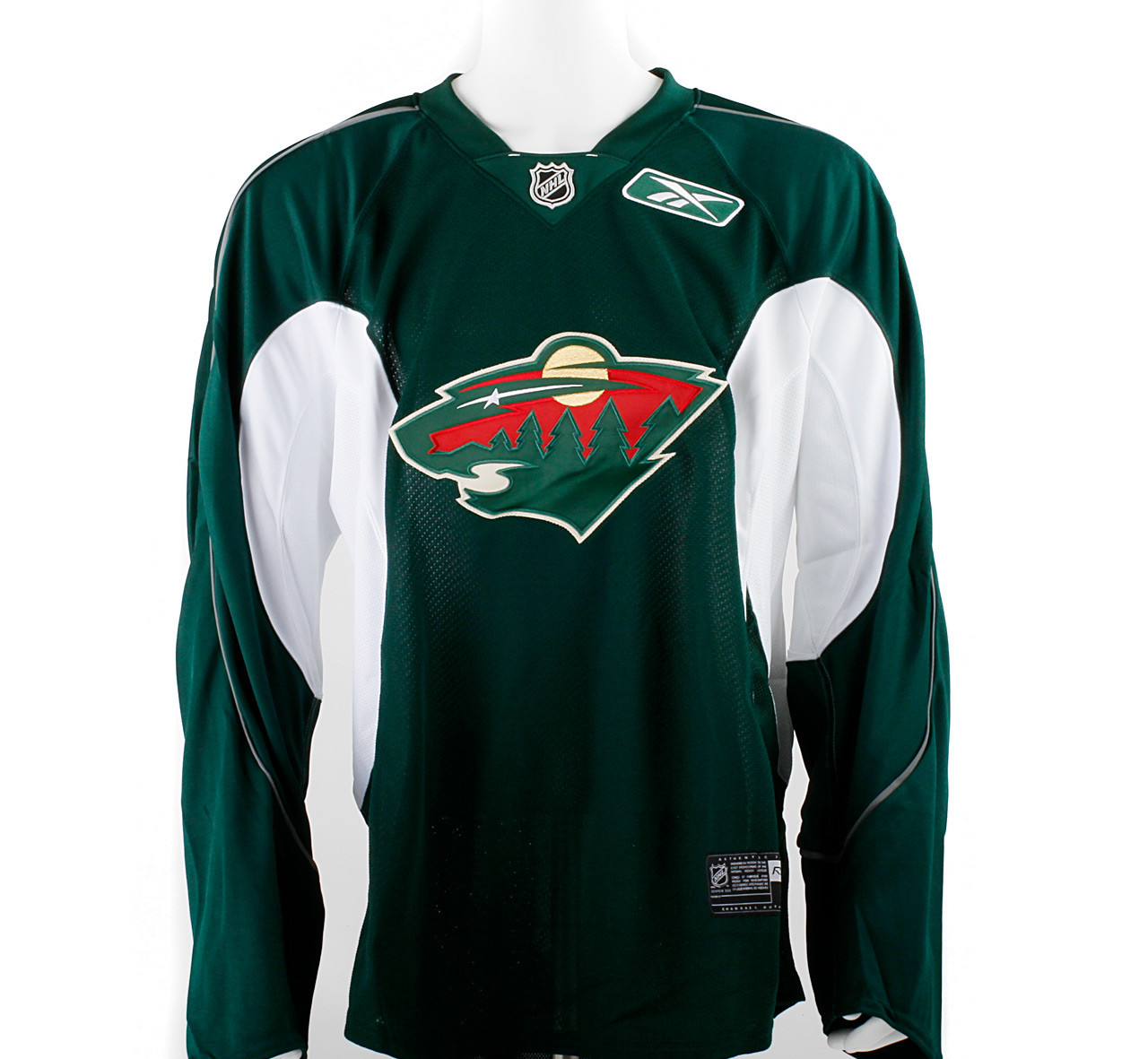 minnesota wild green jersey