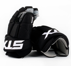 "14"" STX Stallion 500 Gloves - Team Stock Boston Bruins #4"