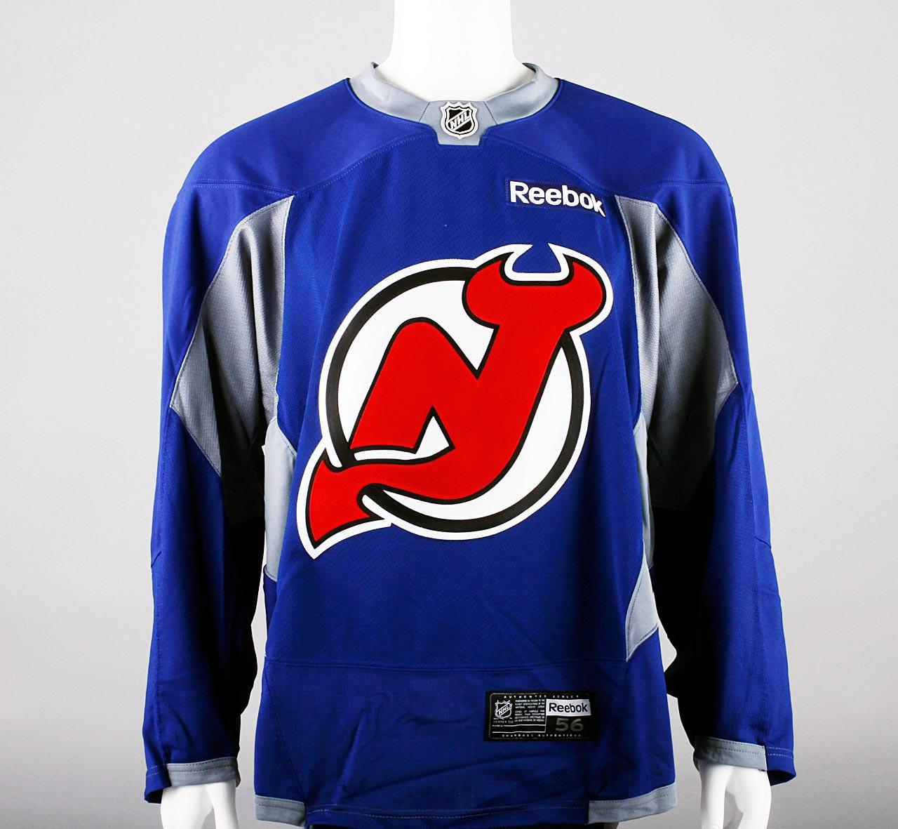 premium selection c160d e3c88 Practice Jersey - New Jersey Devils - Royal Blue Reebok Size 56 #3