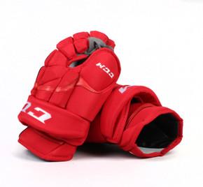 "14"" CCM HG12 Gloves - Team Stock Carolina Hurricanes #2"