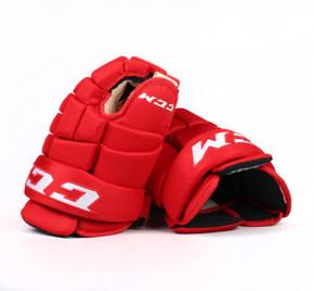 "14"" CCM HG4RRP Gloves - Team Stock Carolina Hurricanes"