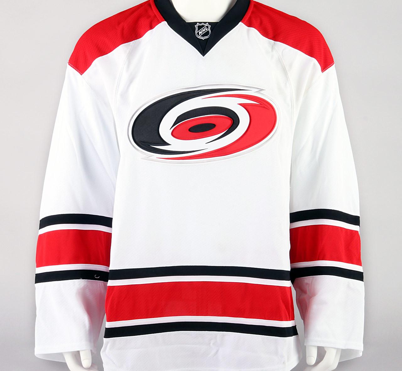 Game Jersey - Carolina Hurricanes - White Reebok Size 58+ - Pro ... 3f033ce7686
