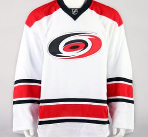 Game Jersey - Carolina Hurricanes - White Reebok Size 58+