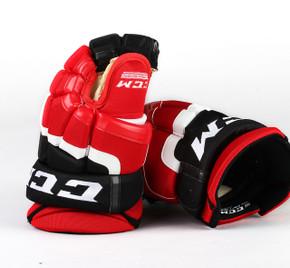 """13"""" CCM HG55 Gloves - Team Stock Albany Devils"""