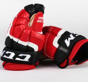 """13"""" CCM HG50 Gloves - Team Stock Albany Devils"""