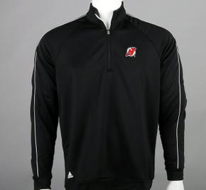 New Jersey Devils Medium Quarter-Zip Long Sleeve Shirt #2