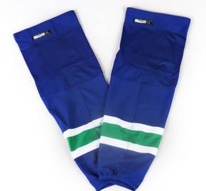 Game Sock - Vancouver Canucks - Royal Blue Reebok Size XL