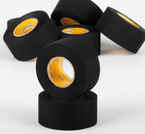 ProStockHockey Thick Black Cloth Tape - 32 roll case