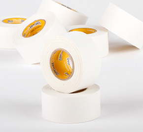 ProStockHockey Thick White Cloth Tape - 32 roll case