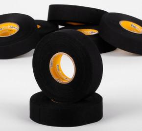 ProStockHockey Black Cloth Tape - 60 roll case