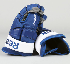 "14"" Reebok HG90XP Gloves - Korbinian Holzer Toronto Maple Leafs"