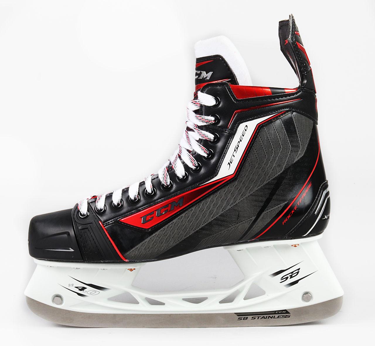 Size 11 5 / 11 5 - CCM Jetspeed Pro Skates - Team Stock