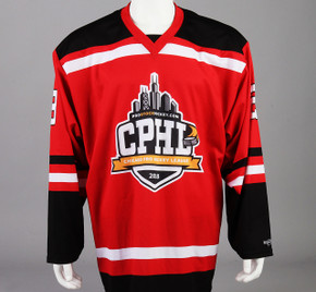 Large Red Chicago Pro Hockey League Jersey