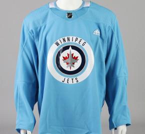Practice Jersey - Winnipeg Jets - Baby Blue Adidas Size 56 #2
