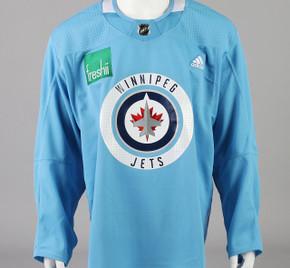 Practice Jersey - Winnipeg Jets - Baby Blue Adidas Size 56