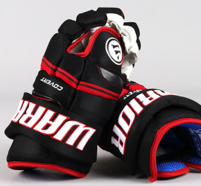 "13"" Warrior Covert QRE Gloves - Team Stock Chicago Blackhawks"