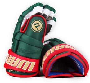 """13"""" Warrior Covert QR1 Pro Gloves - Mikael Granlund Minnesota Wild #4"""