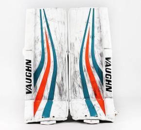 "35"" - Vaughn Velocity V6 White Pads - Troy Grosenick San Jose Sharks"