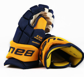"15"" Bauer Total One MX3 Gloves - Yannick Weber Nashville Predators #2"