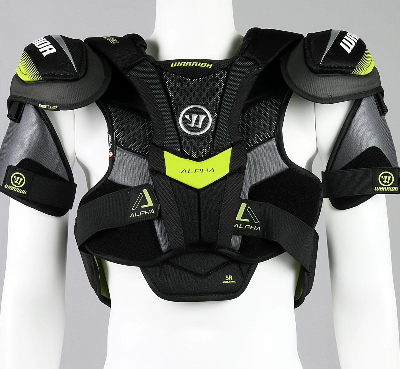 17e03f7403f Size L - Warrior Alpha QX Pro Shoulder Pads  5 - Pro Stock Hockey