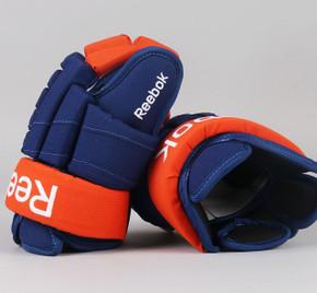 "15"" Reebok HGSTJR Gloves - Team Stock Edmonton Oilers"