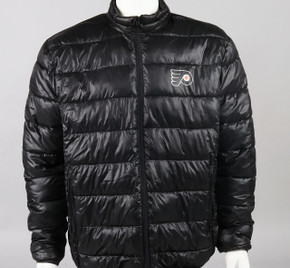 Philadelphia Flyers Medium Full Zip Puffer Jacket