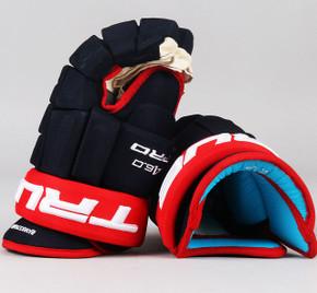 "14"" TRUE A6.0 Pro Gloves - Oliver Bjorkstrand Columbus Blue Jackets"