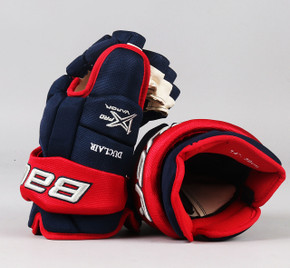 "14"" Bauer Vapor 1X Pro Gloves - Anthony Duclair Columbus Blue Jackets"
