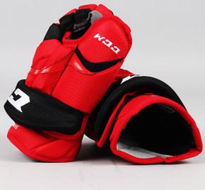 """14"""" CCM HG12 Gloves - Jeff Skinner Carolina Hurricanes"""