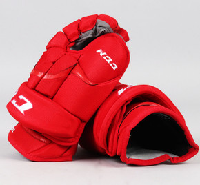 """14"""" CCM HG12 Gloves - Tomas Tatar Detroit Red Wings"""