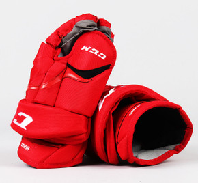 """14"""" CCM HG12 Gloves - Robbie Russo Detroit Red Wings"""