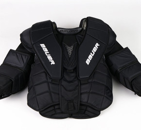 L - Bauer Pro-Spec Chest & Arms Protector - Team Stock